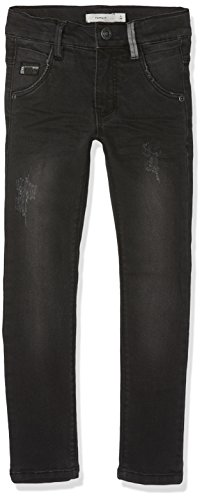 NAME IT Jungen Jeans Nittrap Skinny Dnm Pant Nmt Noos, Grau (Dark Grey Denim), 134