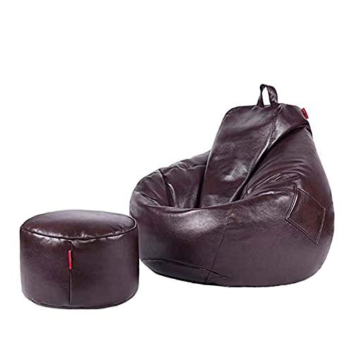 Sitzsack Hülle Lazy Sofa (ohne Füllung) für Erwachsene Stofftier Aufbewahrung Sitzsack Stuhlbezug für Kinder Relaxsessel Indoor Outdoor für Erwachsene/Kind
