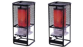 Heatstar By Enerco F170850 Radiant Natural Gas Heater HS125NG Salamander, 125K (2-(Pack))