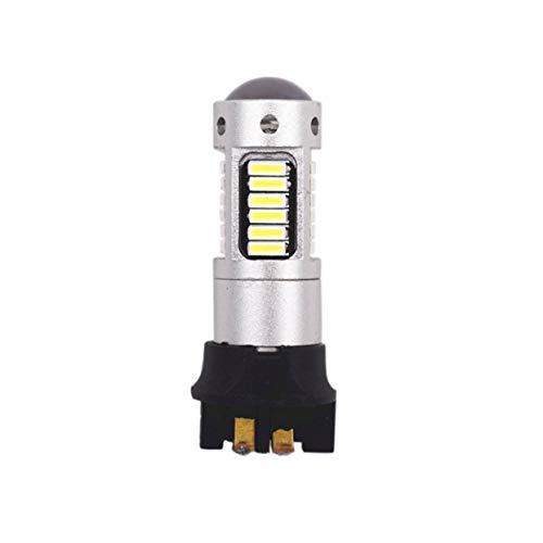 ShenyKan PW24W 4014 30SMD Brillante Bajo consumo de energía Luz antiniebla para automóvil Luz de freno Luces de marcha atrás Luz de bombilla de estacionamiento para automóvil