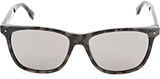 Fendi FRSWG Rectangle Sunglasses for Women - Grey Lens