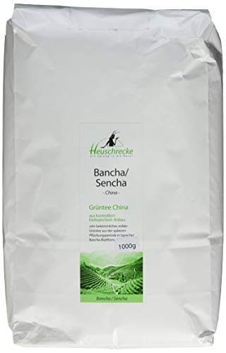 Heuschrecke Bio Grüntee China Bancha/Sencha , 1 kg