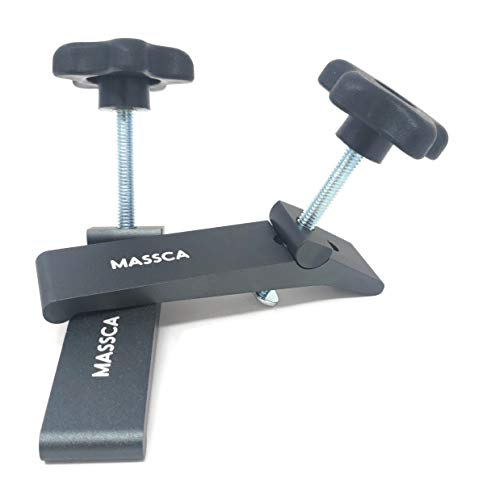 MASSCA Hold-Down Clamp Heavy Duty Made from Strong High-Grade Aluminum for Home & Workshop Use.T Bolt 5/16