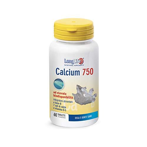 LongLife Calcium 750 Mg Con Vitamina D3-140 g