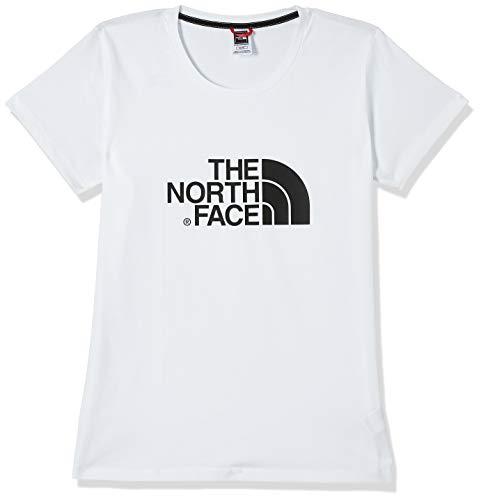The North Face W S/S Easy Tee, Maglia a Maniche Corte Donna, Bianco (TNF White), M