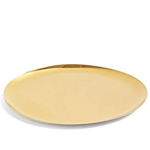HAY Dienblad X-Large Goud ⌀ 35 cm