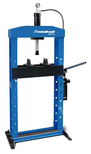 Metallkraft WPP 20–Presse hydraulisch mit Zylinder Mobile 20Ton.