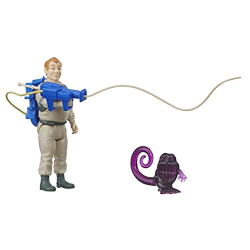Ghostbusters Kenner Classics Ray Stantz and Wrapper Ghost Retro Action Figure Toy with Proton Pack and Accessories Great Gift for Collectors