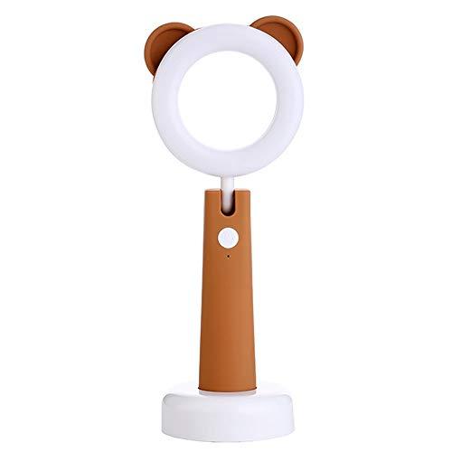 WOHLOGG Led-bureaulamp voor kinderen, nachtlampje, om te lezen of te studeren, met 3 modi, USB-opladen, automatische timer, verstelbare hoek, tafellamp