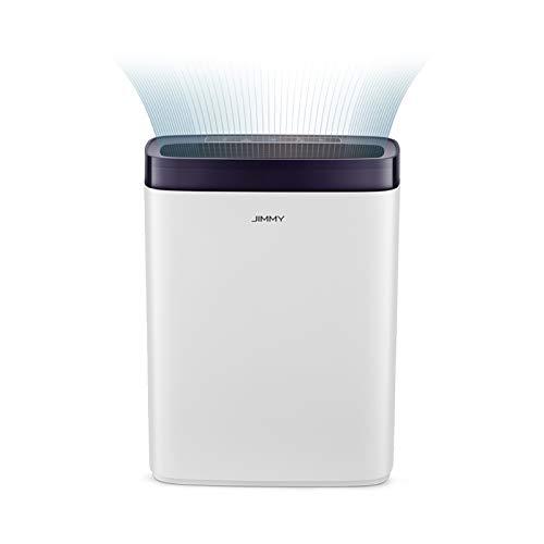 JIMMY AP36 Purificatore d'aria con filtro HEPA, Display a LED e 3 modalità intelligenti