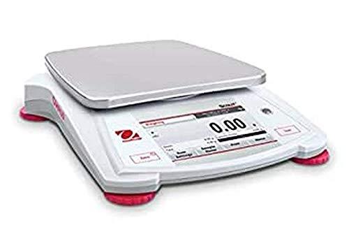 OHAUS STX2202-EU Scout STX equilibrio portátil, 2200 g de capacidad, 0.01 g legibilidad