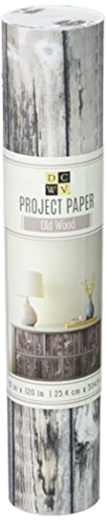 American Crafts 10 x 120 Old Wood Paper Roll by Die Cuts with A View,
