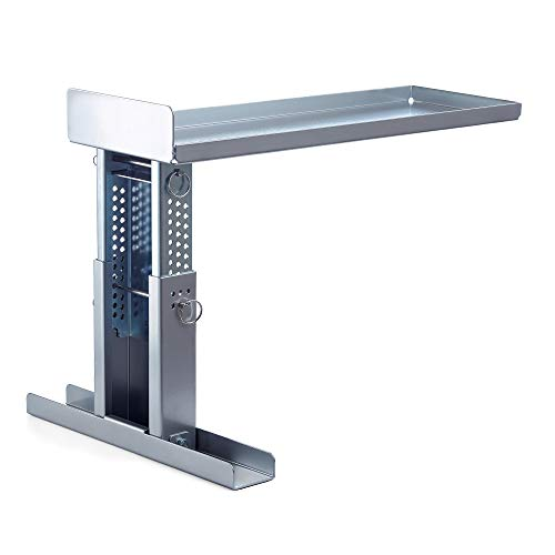 Pecale Ladder Stand for Working on Stairs Safe Ladder Stabilizer for 1AA Type Ladders