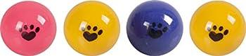 FLAMINGO Jouet Balles de Ping Pong pour Chat 4 cm 4 Pièces