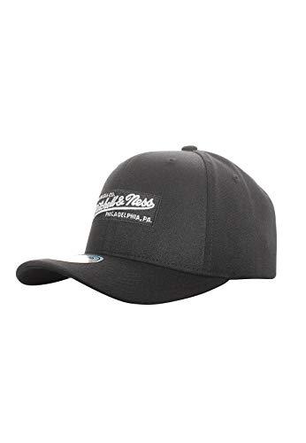 Mitchell & Ness Branded Box Logo Snapback Black - Gorra