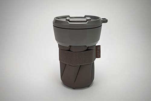 MuC My useful Cup®, Faltbarer Mehrwegbecher, 350 ml, Coffee-to-go, Made in Germany