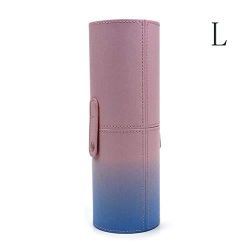 JOYKK Makeup Brush Holder Travel Brushes Case Bag Cup Storage Dustproof for Women Girl - 1# L