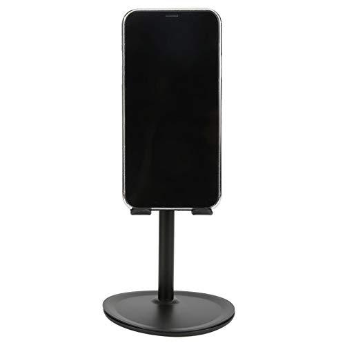 Soporte de escritorio negro, con ABS 100x155mm Ajuste de ángulo Lamicall Teléfono celular para tableta de teléfono móvil