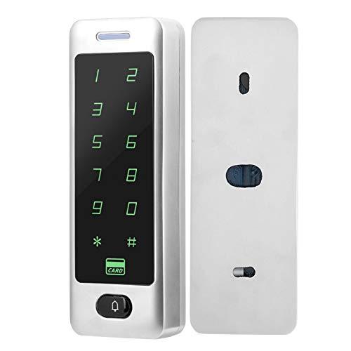 Controlador de acceso táctil resistente a los arañazos Contraseña Control de acceso a la puerta Controlador de acceso RFID Fácil de instalar Nuevo diseño de apariencia de metal, Oficina