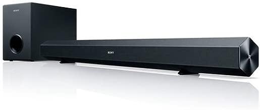 Sony HT-CT60BT 2.1 Channel 60W Bluetooth Soundbar w/Subwoofer NFC for HDTV (Renewed)