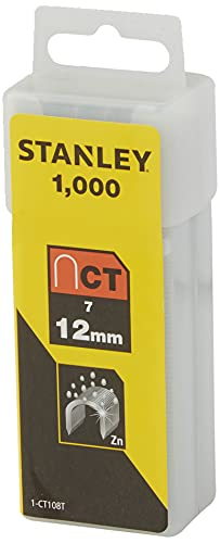 Stanley CT100 - Grapas para cable (12 mm) 1000 piezas