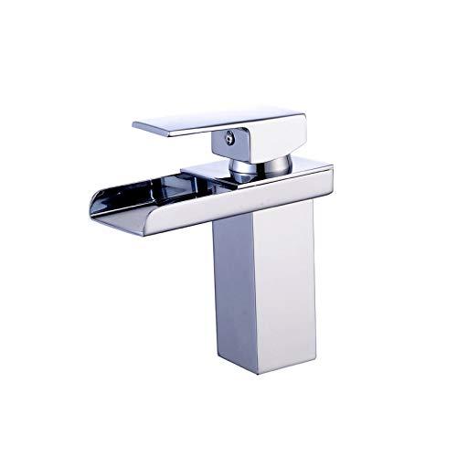 Artículos sanitarios sanitarios, agua mezclada de un solo agujero caliente, grifo, baño, lavabo, grifo