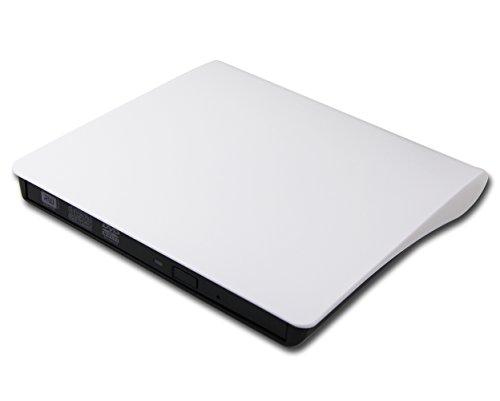 """Ultra Thin 8X DVD Burner CD Player External USB 3.0 3.1 Optical Drive for HP Envy x360 m6-aq105dx m6-aq103dx aq005dx 2-in-1 Convertible 15.6"""" Laptop PC Portable Super Multi DVD RW DL CD-RW Writer"""