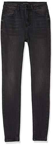 ONLY NOS Damen Skinny Jeans onlMILA HW ANK BJ13776, Schwarz (Black Denim), W28/L30 (Herstellergröße: 28)