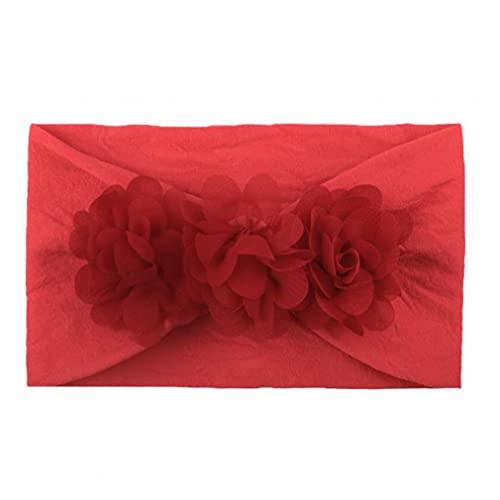 Bebé para niñas, bandas, lindo, cómodo, lindo, cabeza, cabeza, princesa, accesorios para el cabello, cómodo para usar rojo