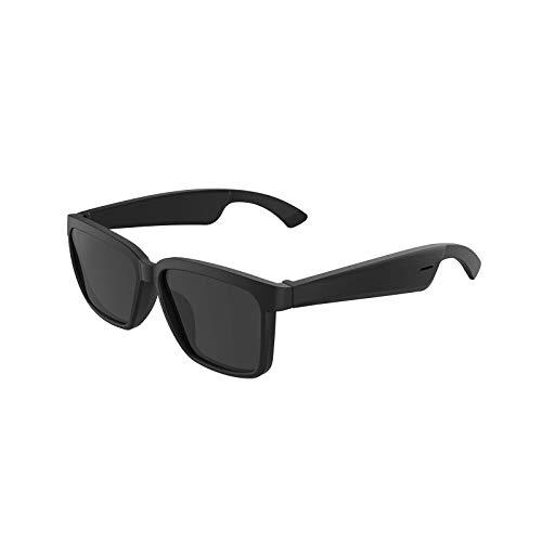 Blesiya Gafas de Sol Deportivas de Audio Bluetooth, Auriculares de oído Abierto música y Llamadas Manos Libres, para Hombres y Mujeres, Lentes polarizadas de