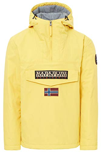 Chaqueta amarilla para hombre