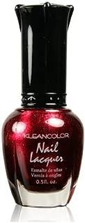 Kleancolor Nail Polish - #161 Metallic Red