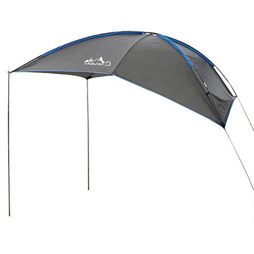 Gusengo Toldo De Coche - Impermeable Auto Canopy Camper Trailer Tent Tailgate Toldo Carpa En La Azotea para SUV, Hatchback, Minivan, Sedan, Camping, Outdoor