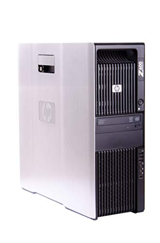 HP Workstation Z600 (Intel Xeon 8-Kern E5520 | 16 GB RAM | NVIDIA Quadro FX 3800 | 250 GB SSD | Win 10 Pro) - (Zertifiziert und Generalüberholt)