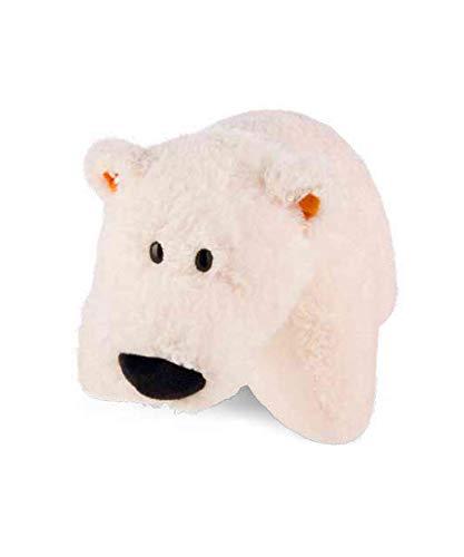 NICI 42034 Winter Kuscheltier-Kissen Eisbär Bignic, 40 x 30 cm, Vorderseite weiß Rückseite weiß