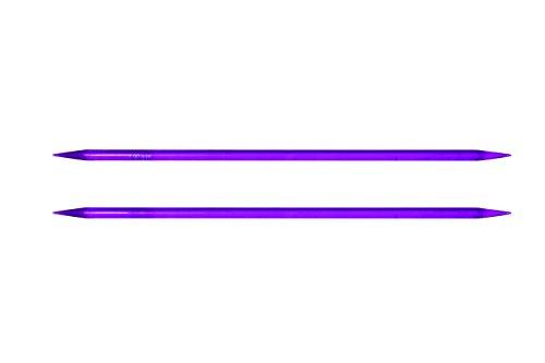 Knit Pro - Ferri a doppia punta da maglia, 20 cm x 5 mm, multicolore