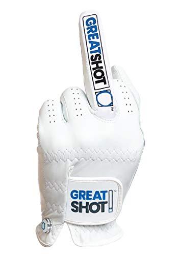 Great Shot Golf Glove The Birdie AAA Premium Cabretta Leather (X-Large,...
