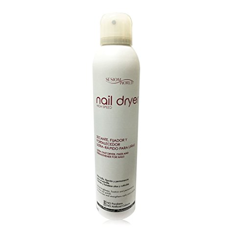 Secante de uñas en spray NAIL DRYER sin parabenos 300ml