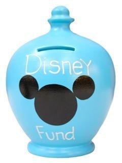 Terramundi Money–blu con fondo Disney in White S185
