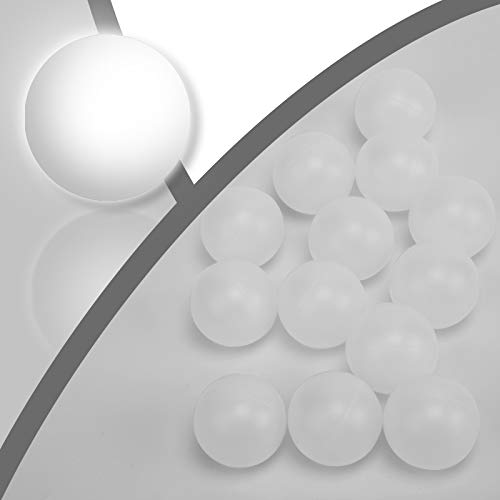 KEVENZ Beer Pong Balls, 144-Pack Glow in The Dark Ping Pong Balls,...