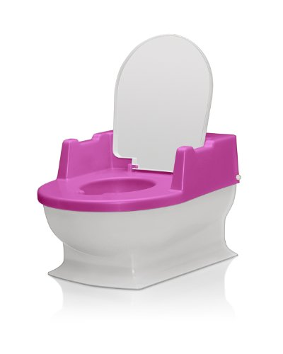 Reer 4411.2 - Orinal infantil con tapa, color rosa