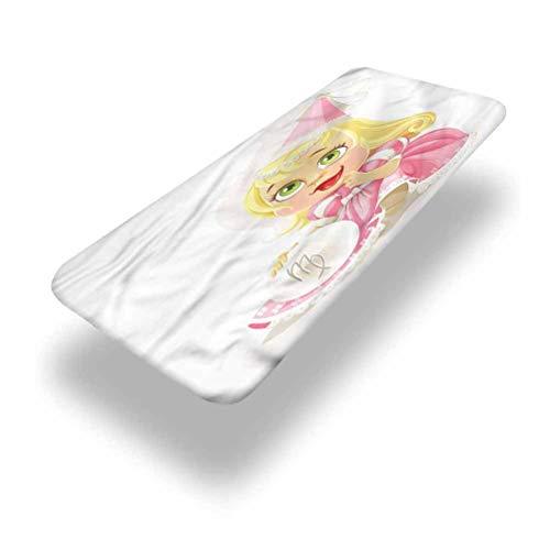 LCGGDB Zodiac Virgo - Mantel ajustable de poliéster para mesa de picnic, diseño de princesa con bordes elásticos, 76,2 x 182,8 cm, para fiestas de Navidad