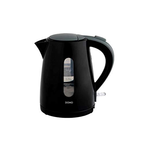Domo Do9198wk Wasserkocher, kabellos, 1 l, 2200 W, Schwarz