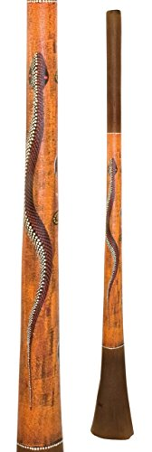 They are dimensionally optimized, stable against cracks and have thin walls Have the warm sound of a wooden didgeridoo This Didgeridoo made of baked wood combines the advantages of both, wood and fiberglass With thin walls but stable compared with th...