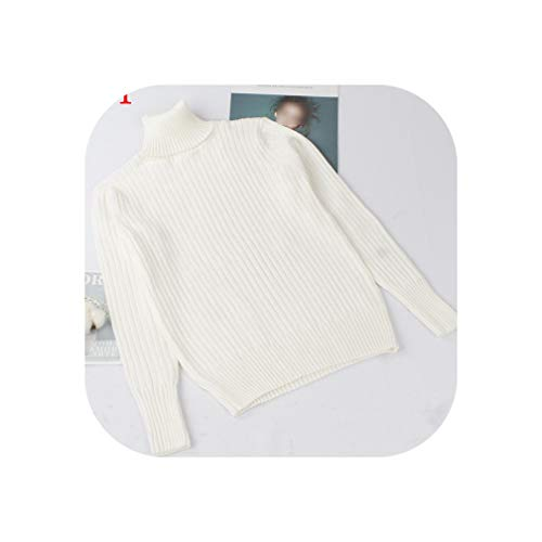 PearlMilkTea001 Herfst Winter Warm Vrouwen Trui Trui Coltrui Gebreide Jumper Rib Knitwear Trui Top