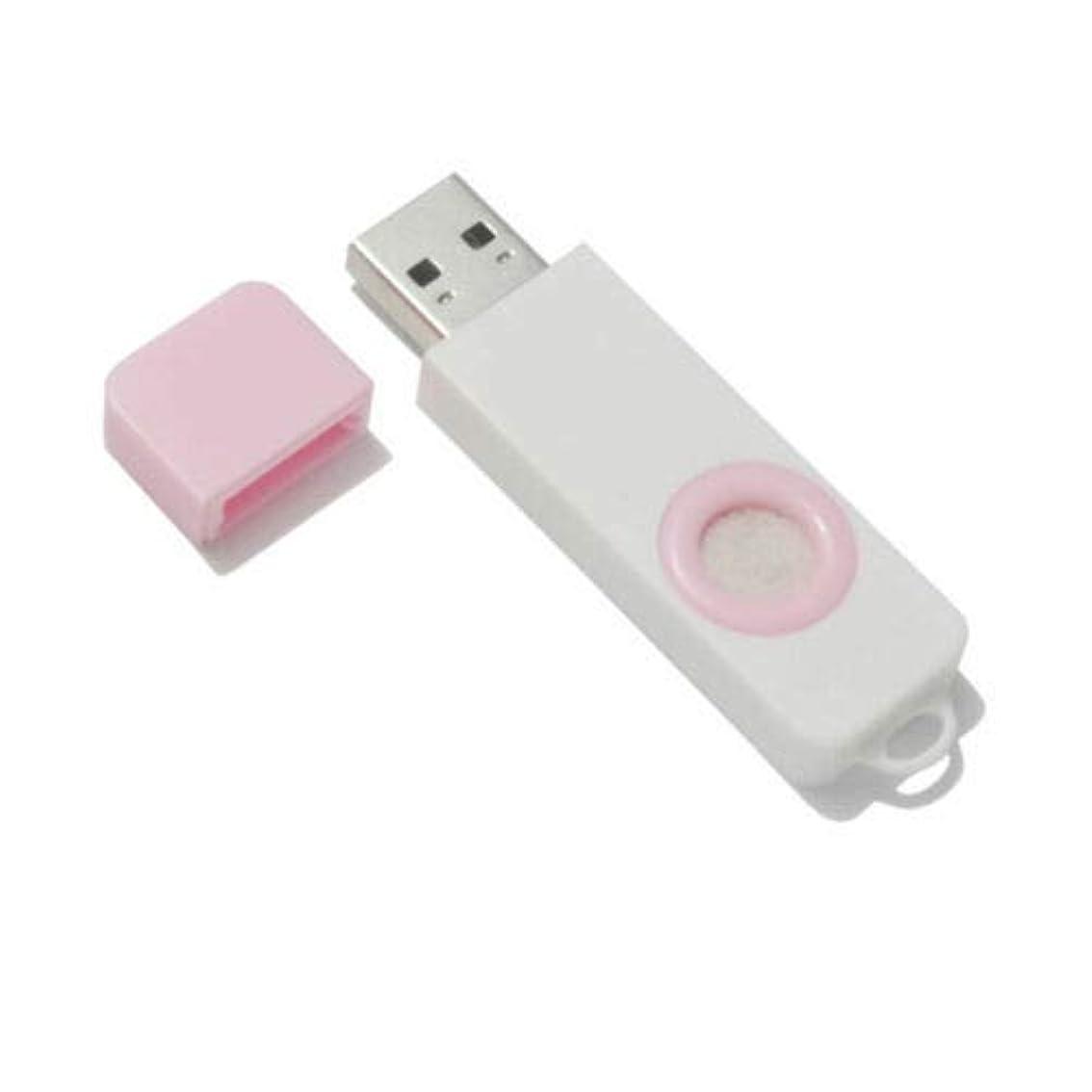 神経障害プレゼン配送FidgetGear Essential Oil Diffuser USB Port Air Freshener Office Home aromatherapy Pink
