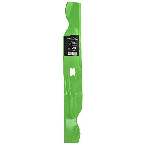 8TEN LawnRAZOR Hi Lift Blade for MTD Cub Cadet Troy Bilt 33 inch Deck Walk Behind 742-04154 742-04154A 942-04154A