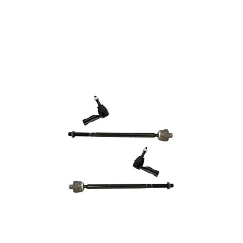NEW Front Steering Inner & Outer Tie Rod End Kit LH RH Sides Compatible with 2013-2017 1500 Crew Cab Pickup 2013-2017 1500 Extended Cab Pickup 2013-2017 1500 Standard Cab Pickup Truck