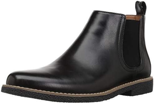 Deer Stags Boy s Zane Memory Foam Dress Comfort Chelsea Boot Black 7 Medium US Big Kid product image