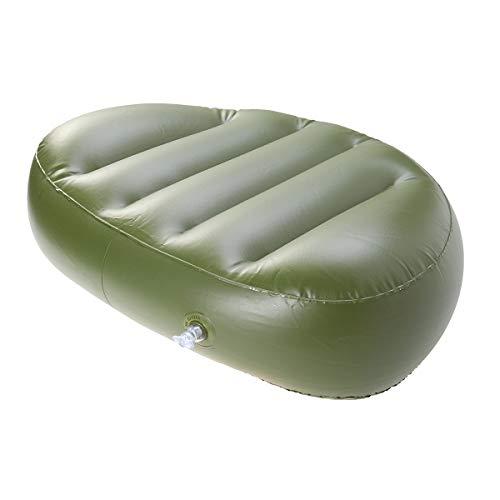 VORCOOL Angeln Sitzkissen Pad PVC Boot Floß Sitzkissen für Camping Angeln (grün)